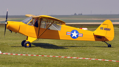 F-BVOZ - Piper PA-18 Super Cub - Private