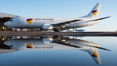 G-JMCY - Boeing 737-4Q8(SF) - West Atlantic Airlines