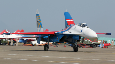 17 - Sukhoi Su-27 Flanker - Russia - Air Force