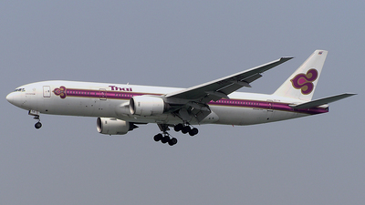 HS-TJE - Boeing 777-2D7 - Thai Airways International