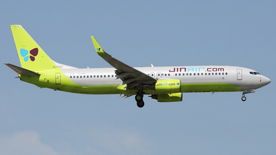 A picture of HL7757 - Boeing 7378GQ - Jin Air - © REDSOX
