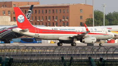 A picture of B1822 - Airbus A320232 - Sichuan Airlines - © M.T