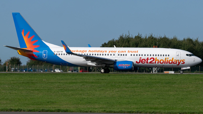 A picture of GGDFW - Boeing 7378K5 - Jet2 - © Jack Snow