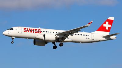 A picture of HBJCI - Airbus A220300 - Swiss - © Daniel Klein