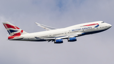 G-BNLO - Boeing 747-436 - British Airways
