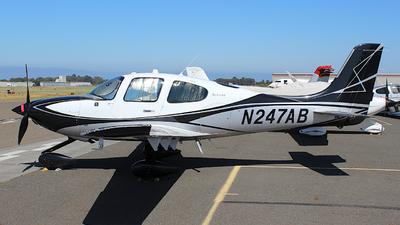 N247AB - Cirrus SR22T-GTS G6 Arrivee - Private