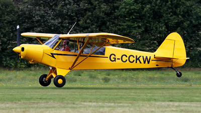 G-CCKW - Piper L-21B Super Cub - Private