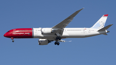 A picture of GCKWA - Boeing 7879 Dreamliner - Norwegian - © Jose R. Ortiz