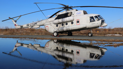 RA-27174 - Mil Mi-8MTV-1 Hip - APK Vector