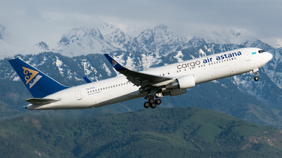 P4-KEC - Boeing 767-3KY(ER) - Air Astana Cargo