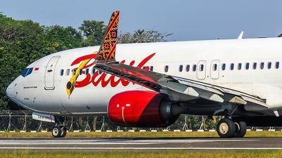 PK-LBW - Boeing 737-8GP - Batik Air