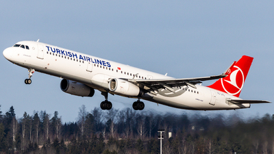 A picture of TCJTL - Airbus A321231 - Turkish Airlines - © Emil Levander