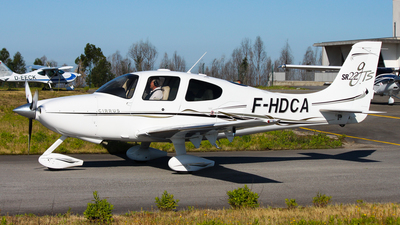 F-HDCA - Cirrus SR22-GTS - Private