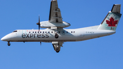 C-FACV - Bombardier Dash 8-311 - Air Canada Express (Jazz Aviation)