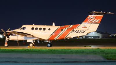 N463DF - Beechcraft A200 Super King Air - United States - California Department of Forestry