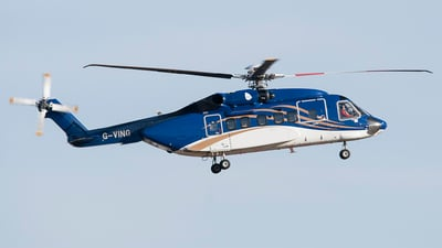 G-VING - Sikorsky S-92 Helibus - Bond Offshore Helicopters