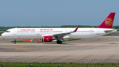B-1645 - Airbus A321-211 - Juneyao Airlines