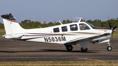 N5036M - Beech A36 - Private