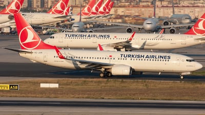 TC-JVK - Boeing 737-8F2 - Turkish Airlines
