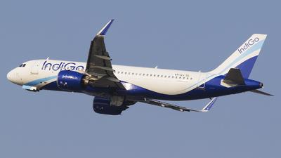 A picture of VTIVJ - Airbus A320271N - IndiGo - © Akshay M