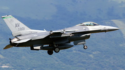 89-2001 - General Dynamics F-16C Fighting Falcon - United States - US Air Force (USAF)