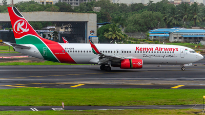 5Y-CYB - Boeing 737-8HX - Kenya Airways