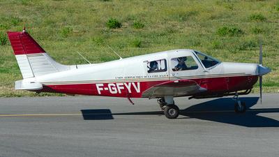 F-GFYV - Piper PA-28-161 Cadet - Union Aéronautique de la Côte d'Azur