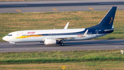 A picture of VTSXD - Boeing 73785R - SpiceJet - © Sandeep Pilania