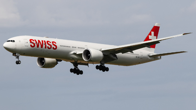 A picture of HBJNL - Boeing 777300(ER) - Swiss - © Jan Born Photography