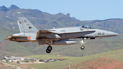 C.15-84 - McDonnell Douglas F/A-18A Hornet - Spain - Air Force