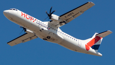 F-HOPA - ATR 72-212A(600) - HOP! for Air France