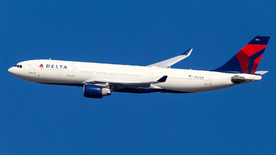 A picture of N861NW - Airbus A330223 - Delta Air Lines - © Wenjie Zheng