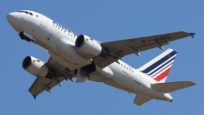 A picture of FGUGO - Airbus A318111 - Air France - © Ferenc Kolos