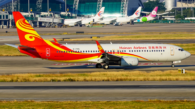 B-1785 - Boeing 737-84P - Hainan Airlines