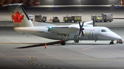 C-FGRP - Bombardier Dash 8-102 - Air Canada Express (Jazz Aviation)