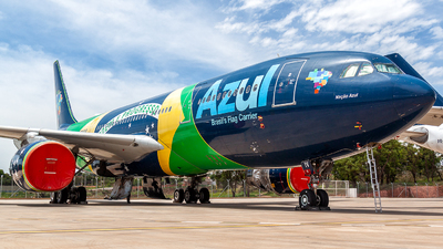 A picture of PRAIV - Airbus A330243 - Azul Linhas Aereas - © Gabriel Benevides - Team BSB Spotter