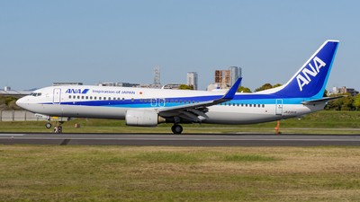 A picture of JA65AN - Boeing 737881 - All Nippon Airways - © Tsumugu Ono