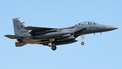 00-3004 - Boeing F-15E Strike Eagle - United States - US Air Force (USAF)