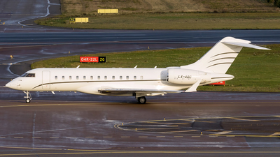 LX-ABC - Bombardier BD-700-1A10 Global Express - Global Jet Luxembourg