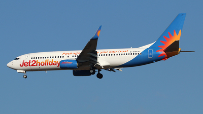 A picture of GGDFU - Boeing 7378K5 - Jet2 - © Ferenc Kolos
