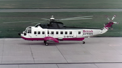 G-BFFK - Sikorsky S-61N - British Airways