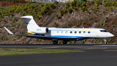N917C - Gulfstream G650ER - Private