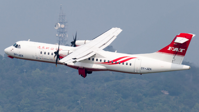 OY-JZA - ATR 72-212A(600) - Far Eastern Air Transport (FAT)