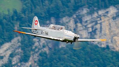 HB-RAM - Pilatus P-2-06 - Private