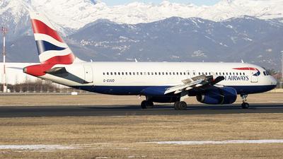 G-EUUD - Airbus A320-232 - British Airways