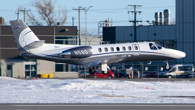 N58D - Cessna 560 Citation V - Private