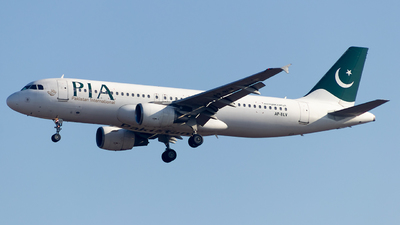 A picture of APBLV - Airbus A320214 - Pakistan International Airlines - © Baqir Kazmi