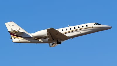 PR-AGP - Cessna 680 Citation Sovereign - Private