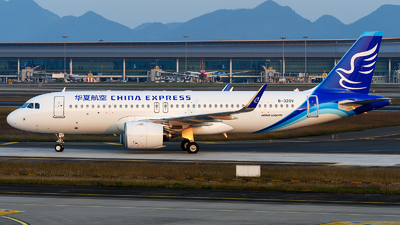 A picture of B320V - Airbus A320271N - China Express Airlines - © Mr.Huang
