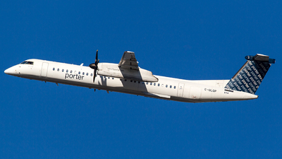 A picture of CGLQP - De Havilland Canada Dash 8400 - Porter Airlines - © Wenjie Zheng